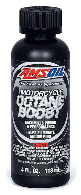 amsoil, octane boost, motorcycle