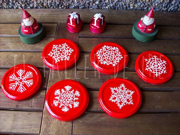 Diy posavasos navide os aprender manualidades es - Decoracion navidad infantil manualidades ...