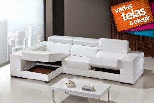 Comprar moderno sof con chaise longue ofertas sofas for Sofas de piel con chaise longue