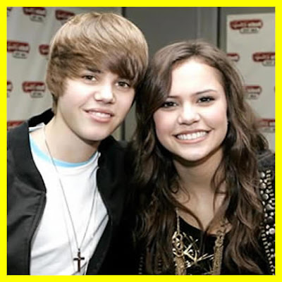 Justin Biebergirlfriend on Justin Bieber And His Girlfriend 2009 Now Girlfriends