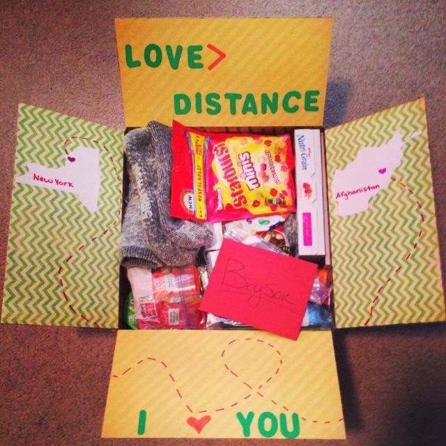 valentine's day gifts for military boyfriend - From Cadet Life To Army Wife Love Distance Care Package