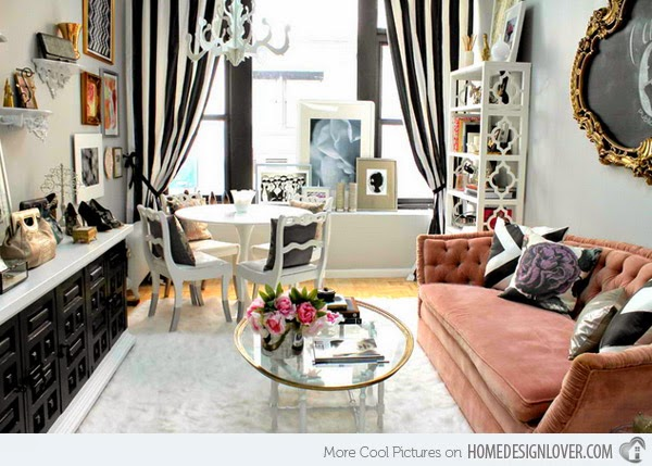 Desain Interior Ruang Tamu Kecil Modern Minimalis