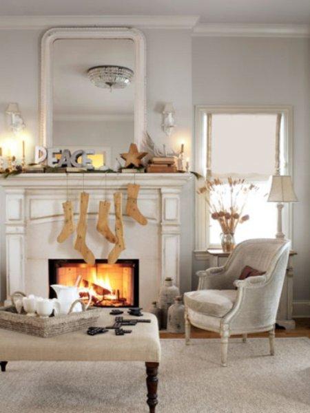Decoraciones y modernidades decoracion de chimenea para for Decoracion de chimeneas
