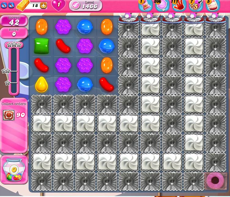 Candy Crush Saga 1466