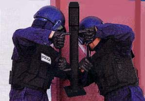 Welp.  Police-battering-ram