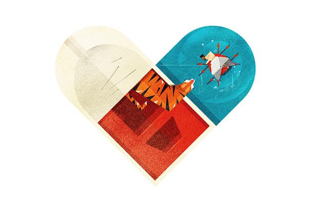 Versus/Hearts by Dan Matutina - Parker vs Pi