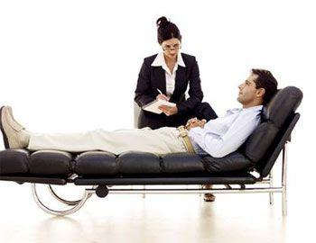 Psicoterapeuta y paciente