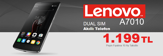 Lenovo A7010 Smartphone