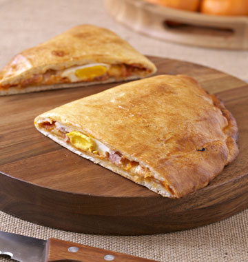 Recettes v ritable calzone italienne - Veritable pate a pizza ...