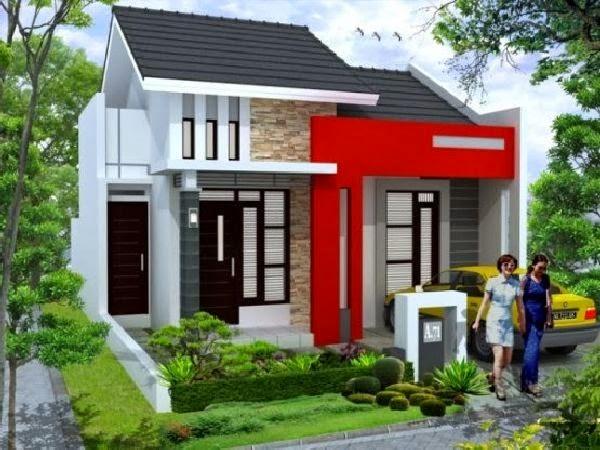 desain rumah minimalis perkotaan lahan sempit kumpulan