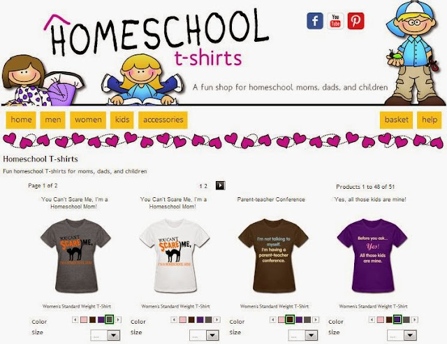 homeschooling shirts