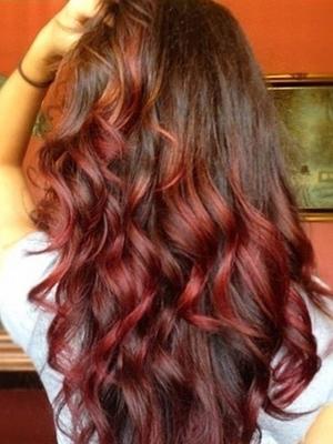 puntas de colores peinados 2014