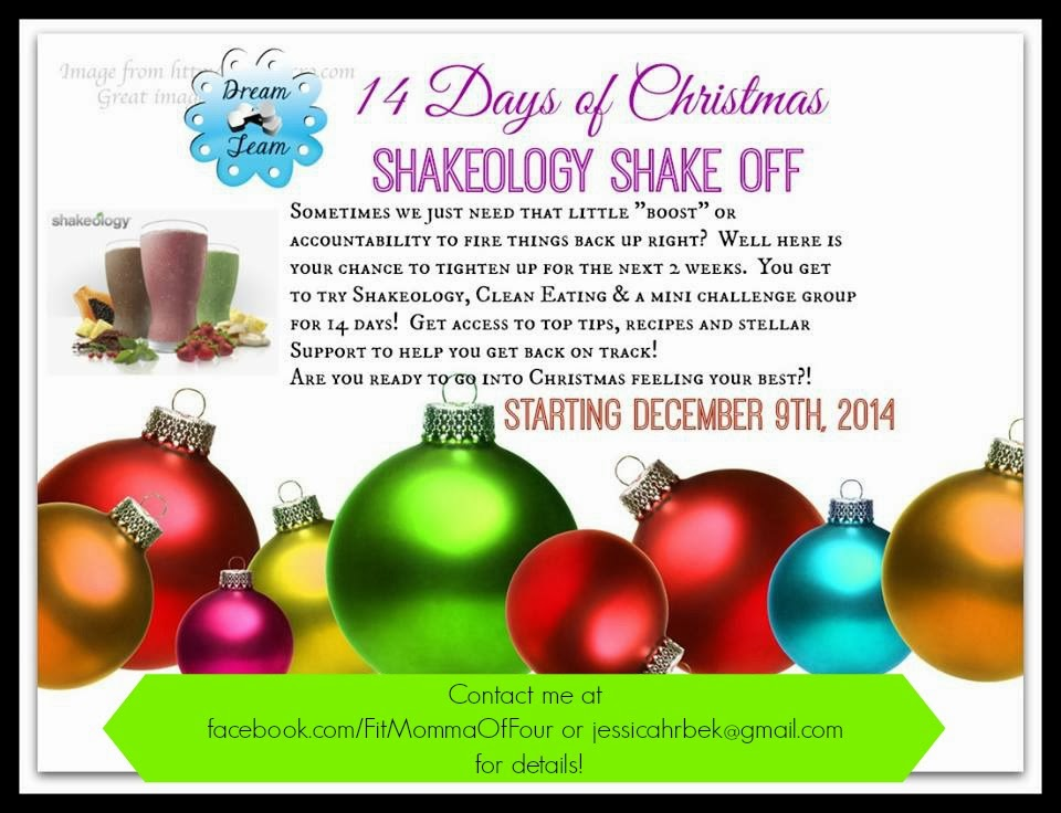 the 14 day shakeology shake off is your perfect opportunity to learn the benefits of shakeology first hand - When Is The First Day Of Christmas