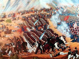 BATALLA DE MAIPÚ (05/04/1818) General SAN MARTÍN Vs REALISTAS (Españoles)