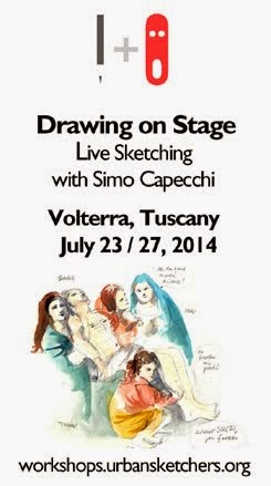 Sketching Workshop in Tuscany