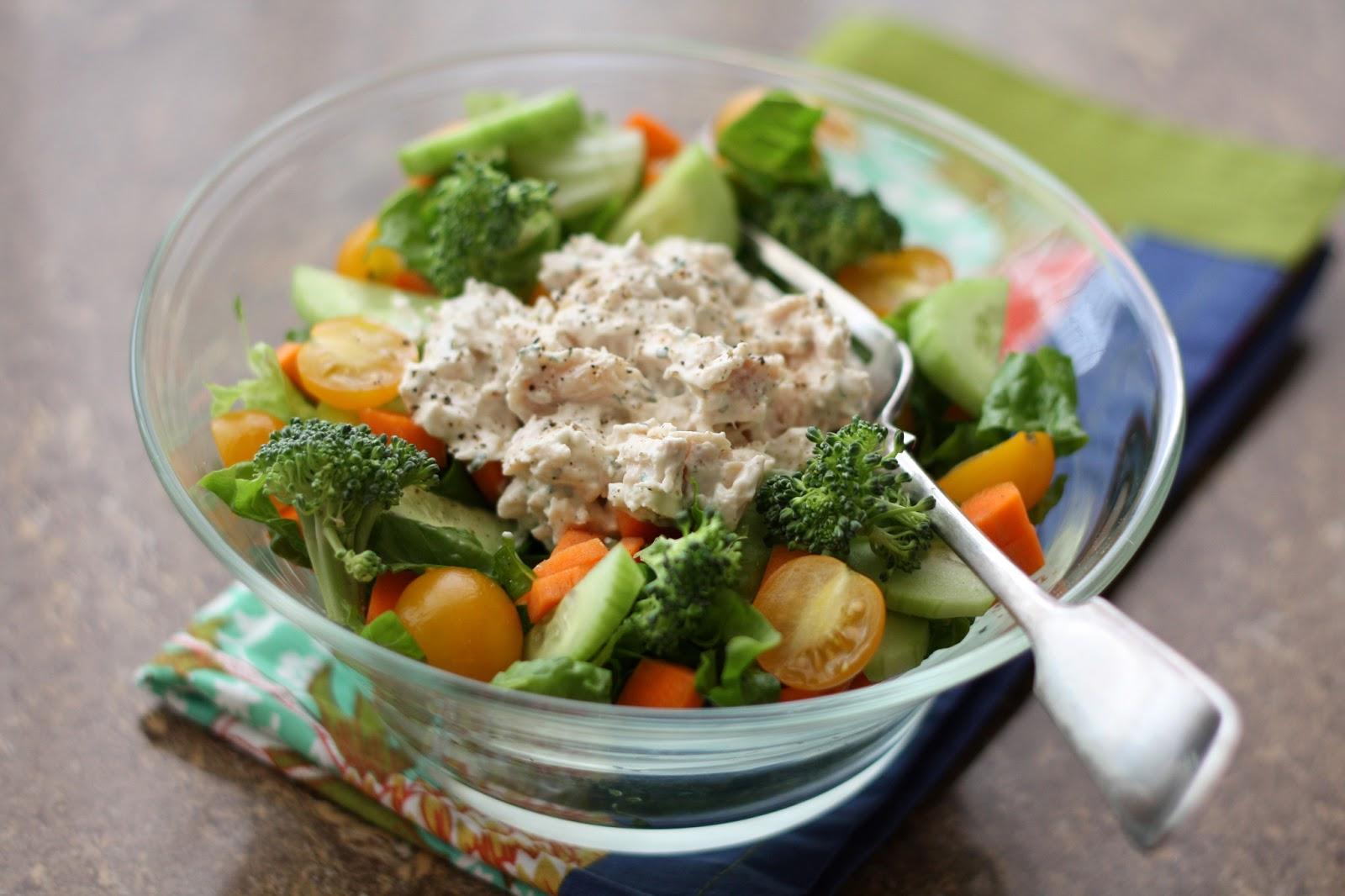 Minute Ranch Chicken Salad