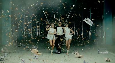 Psy Gangnam Style models trash funny