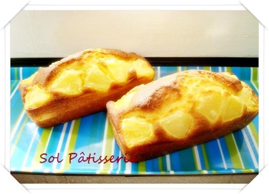 Mini cake à l'ananas