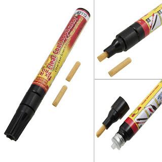 Hot Fix It Pro easy Clear Car Scratch Repair Remover Pen Simoniz Coat Applicator