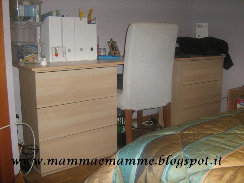 Mammaemamme angolo studio in camera da letto - Scrivania da letto ...