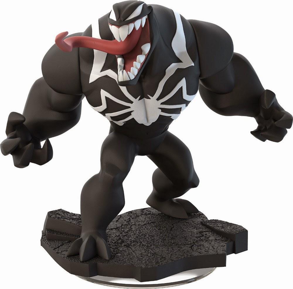 TOYS : JUGUETES - DISNEY Infinity 2.0 - Figura Venom : Marvel Super Heroes Spider-Man (Disney - 19 Septiembre 2014)