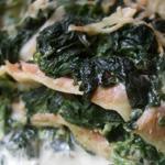 Lasagnes au saumon et aux épinards (sur marmiton.org)