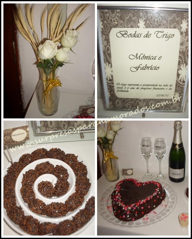 bodas de trigo 3 anos de casados