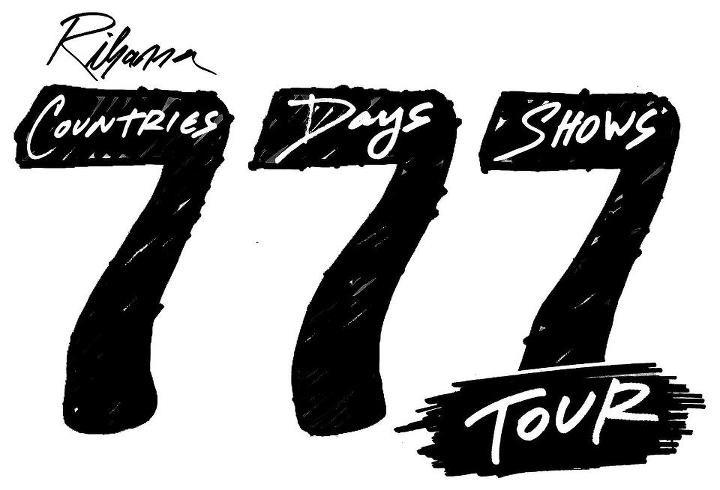 rihanna 777 tour concert htc reporter fan