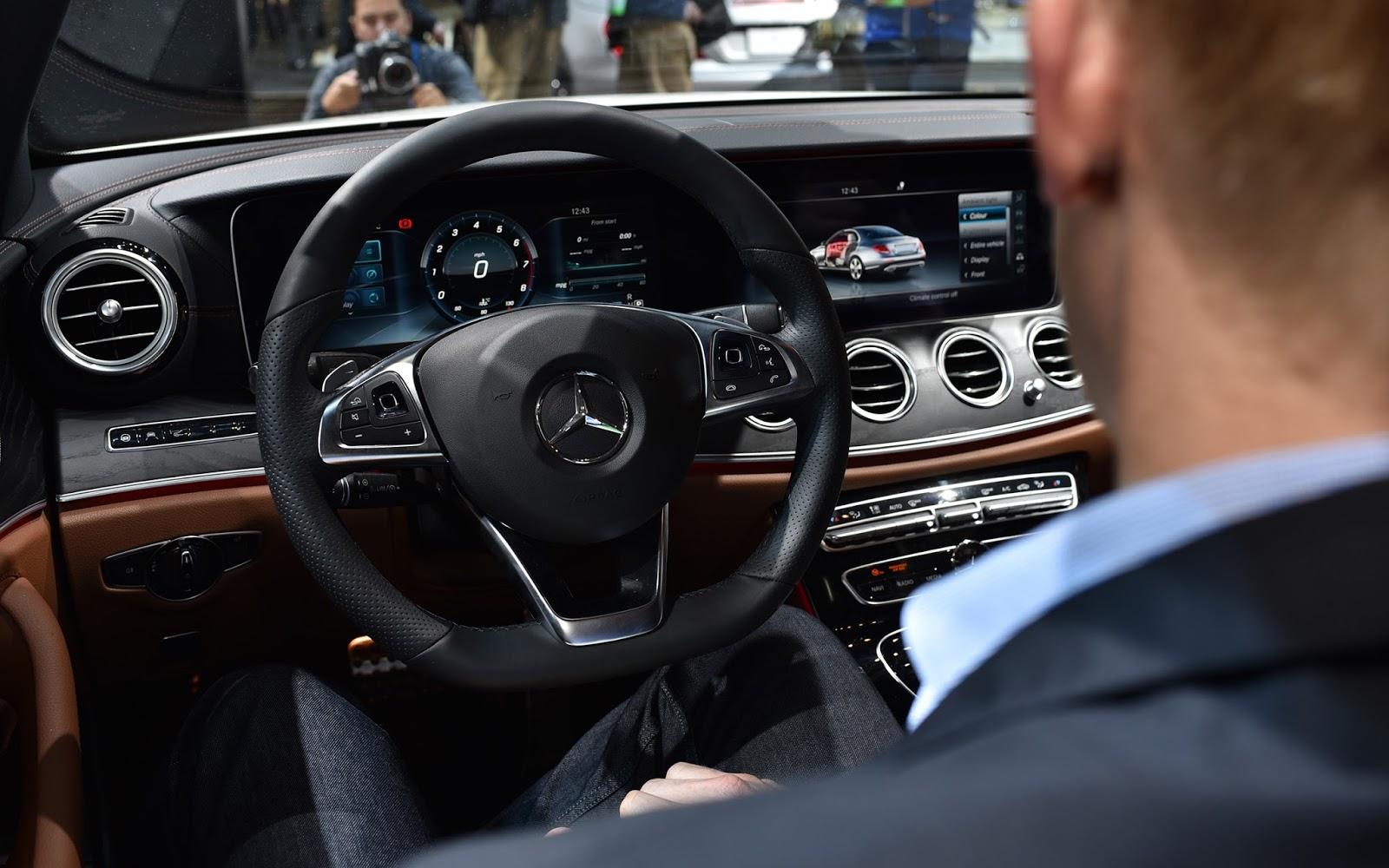 Naias 2016 darauf d rfen wir europ er uns freuen for Mercedes e interieur