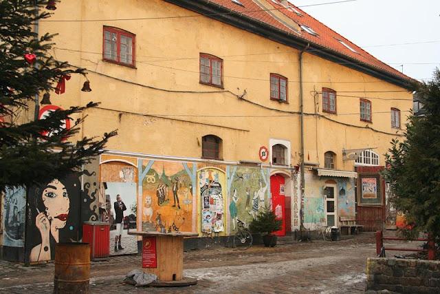 Café La Opera en Christiania