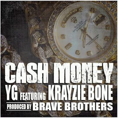 YG - Cash Money (feat. Krayzie Bone) - Single Cover