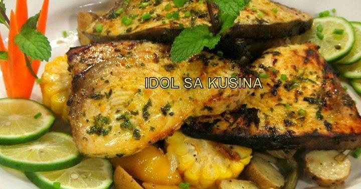 Idol sa kusina recipes grilled herb marlin with veggies for Marlin fish recipes