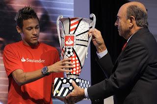 Neymar fue el mejor jugador de la Copa Libertadores 2011