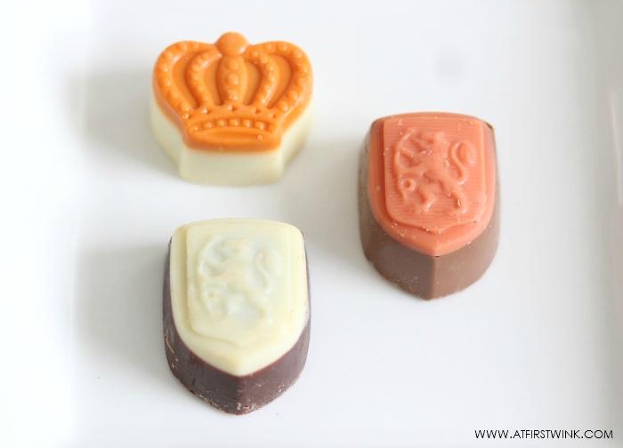 Dutch Royal Orange chocolate bonbons