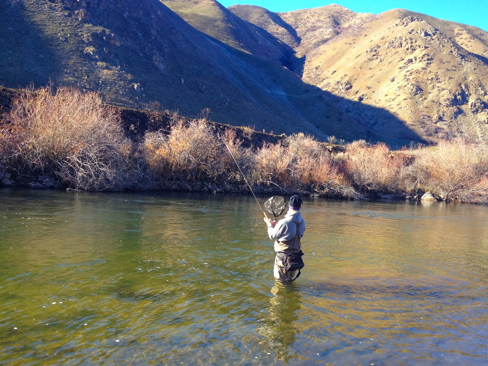 Erik s fly fishing blog sacrifice to the fish gods for Boise river fishing