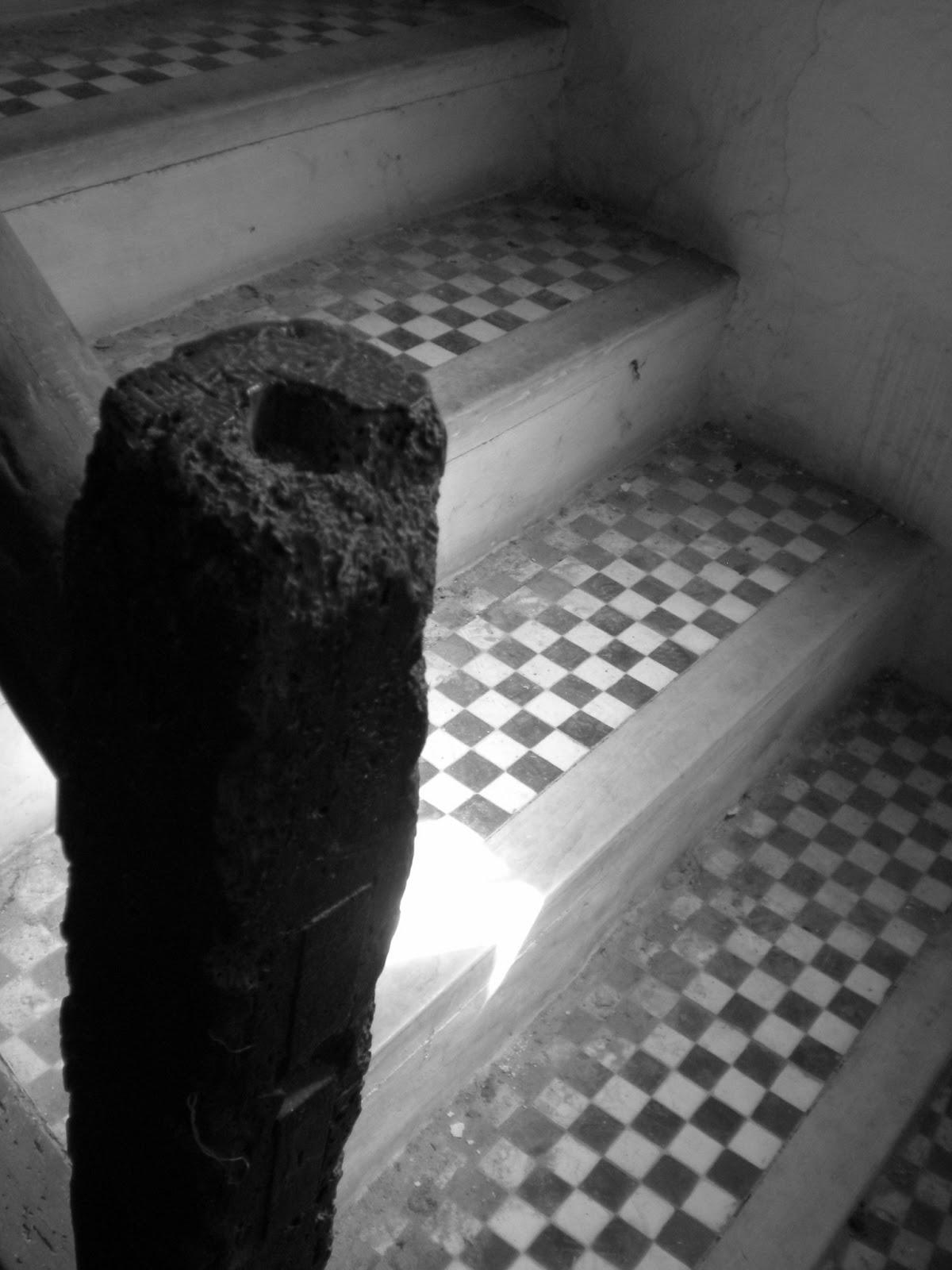 Escaleras palacio aragonés siglo XVII