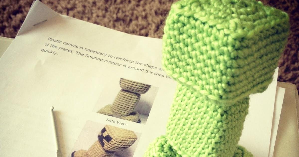 Amigurumi Crochet Creeper Hooked By Robin