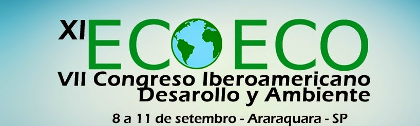 XI Encontro da Sociedade Brasileira de Economia Ecológica