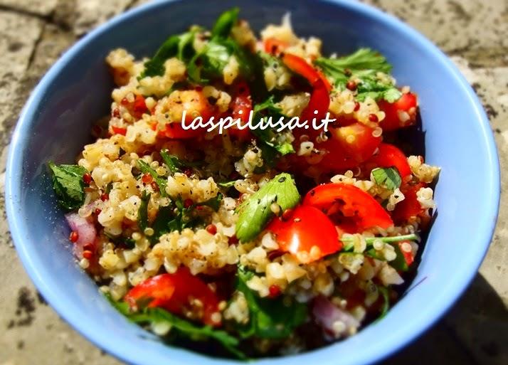 ricetta libanese Tabbouleh o tabulè, cucina fresca di primavera