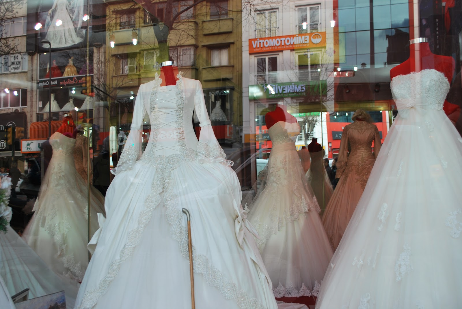 Barnaby Does Istanbul: Bridesmaid Dress Shopping in Fatih: Every ...
