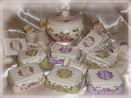 Bomboniere - Ceramiche dipinte a mano
