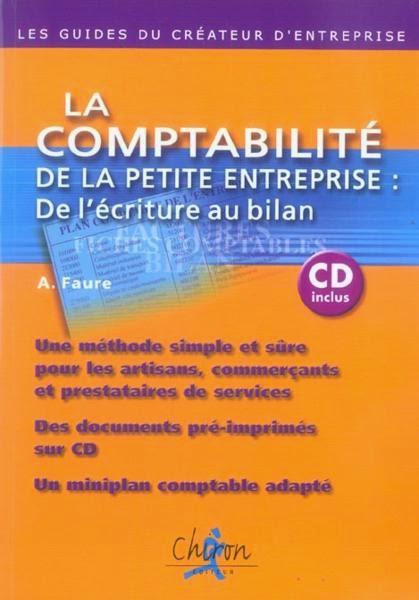 Télécharger le Livre : La Comptabilité de La Petite Entreprise : de l'écriture au bilan