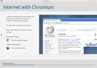 Internet with Chromium Browser