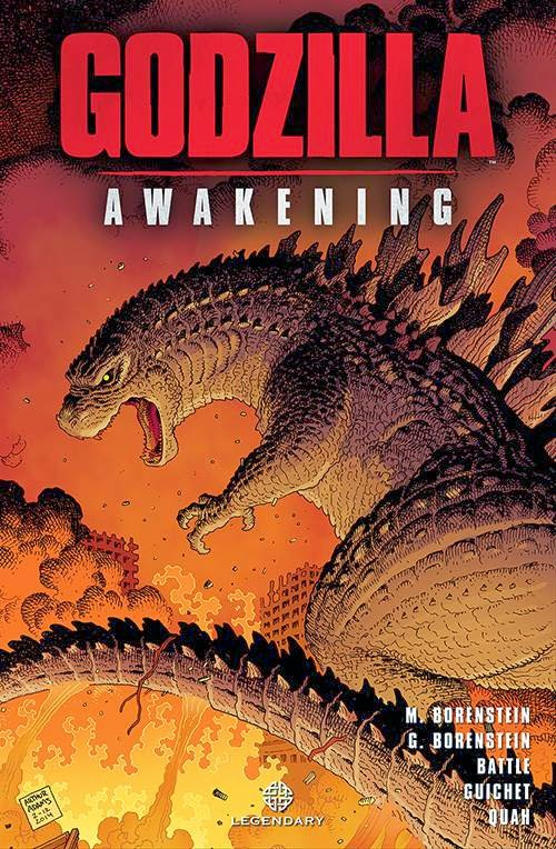 GODZILLA: AWAKENING - GRAPHIC NOVEL COVER