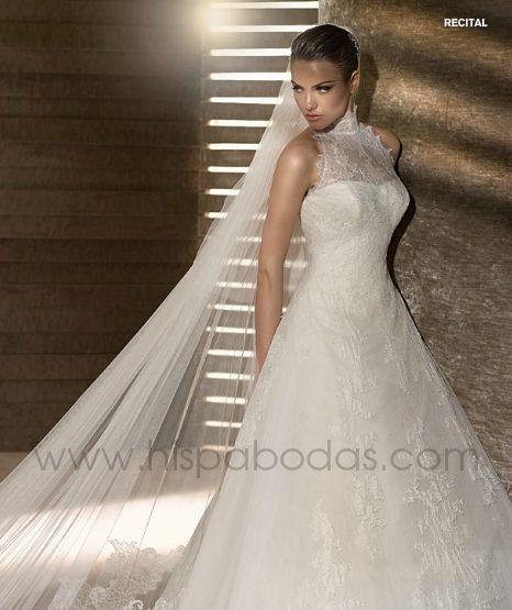 peinados: colecciÓn glamour vestidos de novia san patrick 2012 ( 2