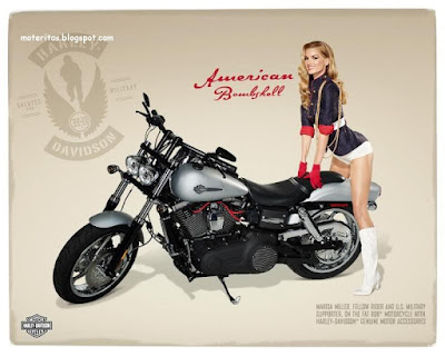 harley davidson-ganar-pin up