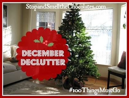 December Challenge {40 items gone so far}