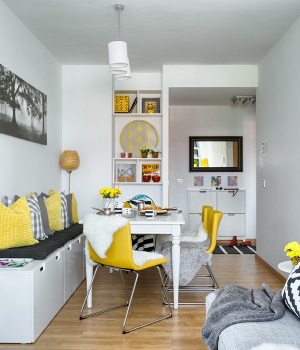 Un piso decorado con productos ikea house decorated with ikea products - Piso 40 metros ikea ...