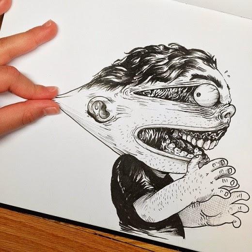χαρείτε τα διαδραστικά σκίτσα του Alex Solis