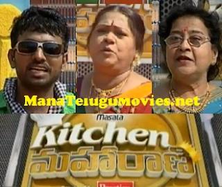 Kitchen Maharani – 8th Dec – Shakuntala as Guest